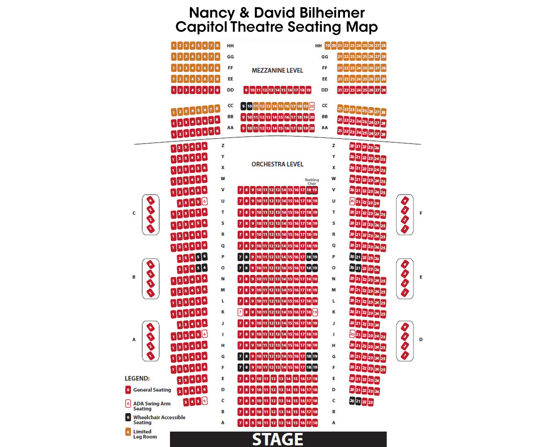 Capitol-Theatre-Seat-Map