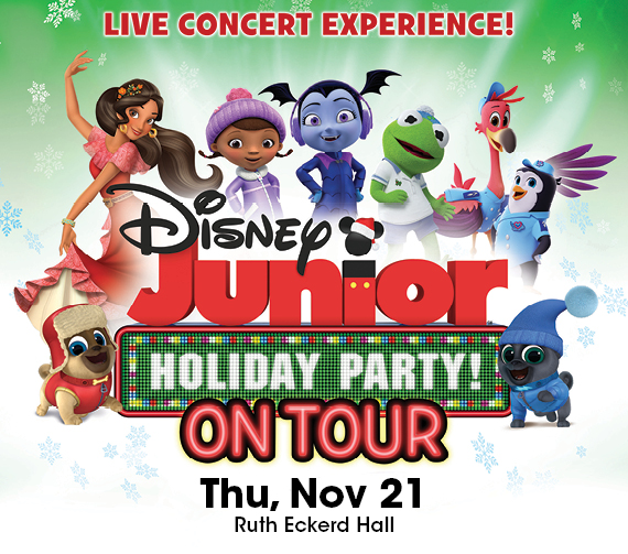 Disney Jr. Live Holiday Party