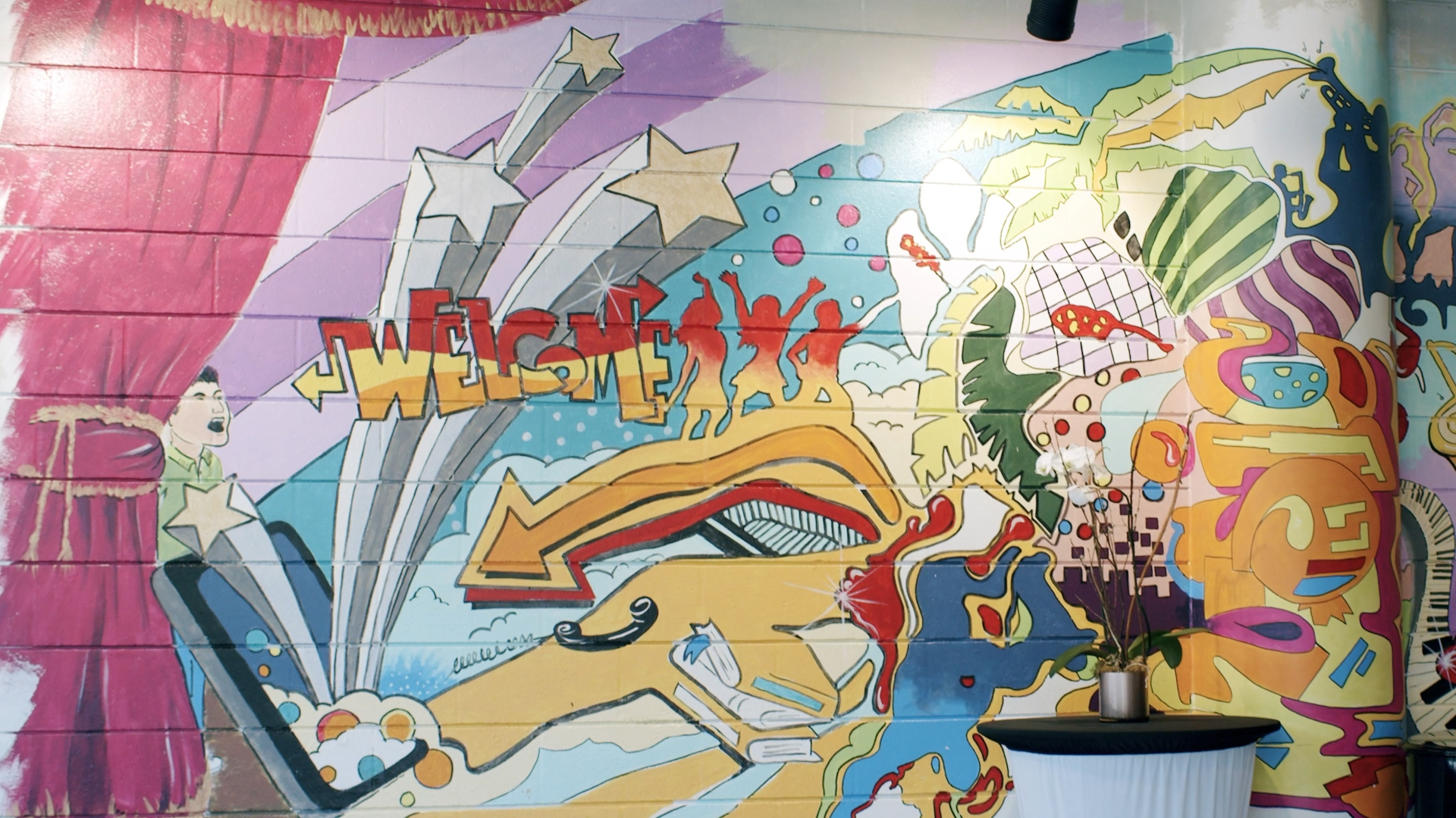Murray Theatre Lobby Mural