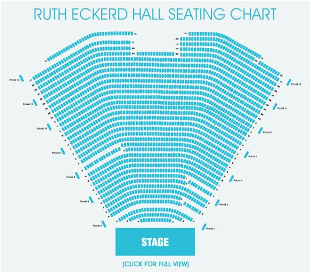 Seating Charts | Ruth Eckerd Hall