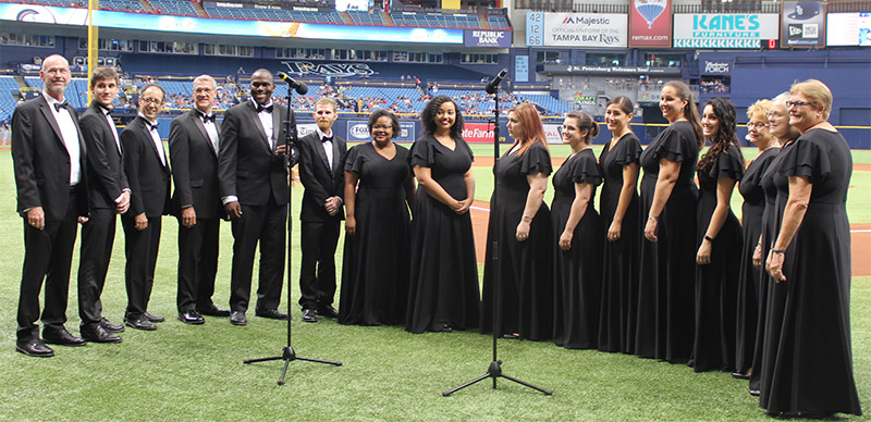 Ruth Eckerd Hall Chorus at Tropicana Field