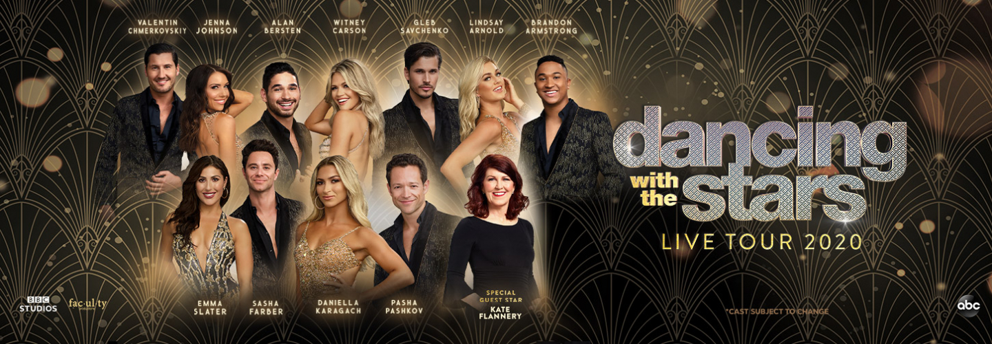 Dwts Tour 2020.Dancing With The Stars Live Ruth Eckerd Hall